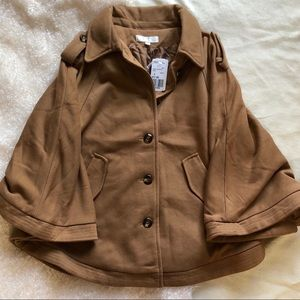 Forever 21 Casual Jacket in Camel